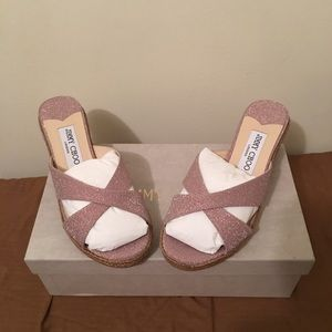 jimmy choo Almer 50 wedge sandal